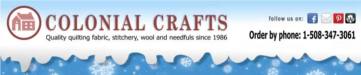 Colonial Crafts Winter Sale
