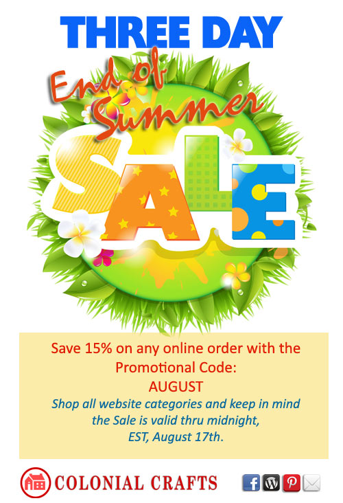 End of Summer Sale
