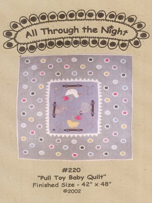 Pull Toy Baby Quilt
