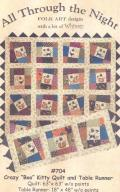 Crazy Boo Kitty Quilt