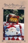 Jingle Bell Santa Pillow
