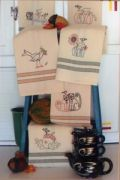 Harvest Tea Towels
