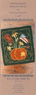Autumn Pumpkin Basket Rug