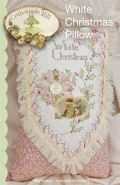White Christmas Pillow