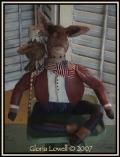Americana Donkey with Eagle